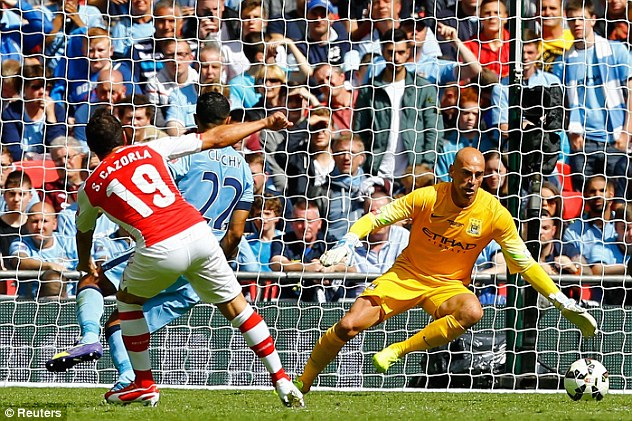 One-sided: It wasn't quite the close contest BT would have wanted after Sati Cazorla's opener