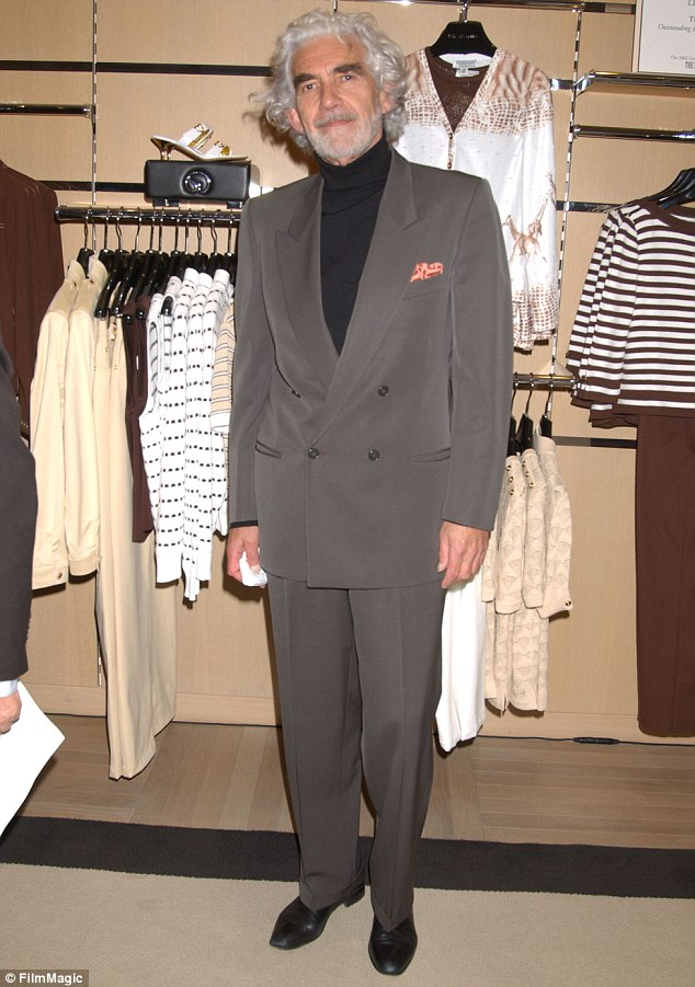 One sharp dresser: Charles Keating during The Official Drama Desk Cocktail Party at St John Boutique in New York City in 2003