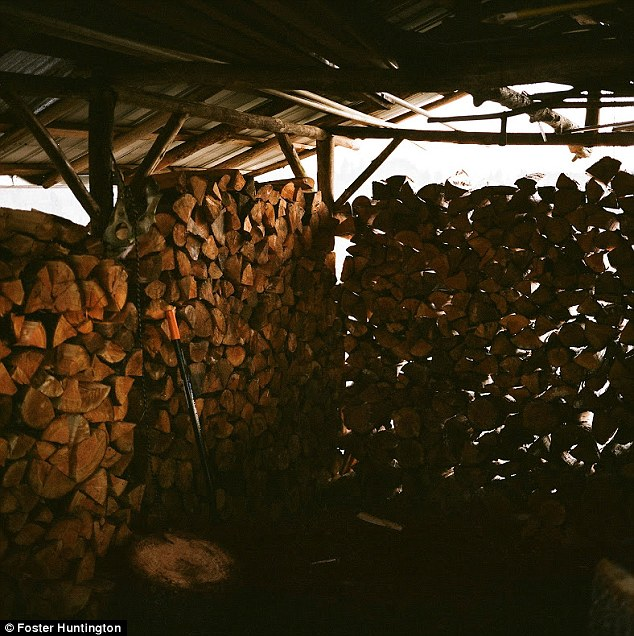 SO that there is plenty of wood to keep the camp powering