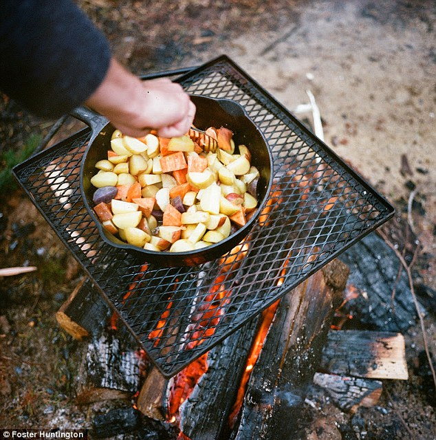 Or a kitchen when you can fry potatoes on an open fire