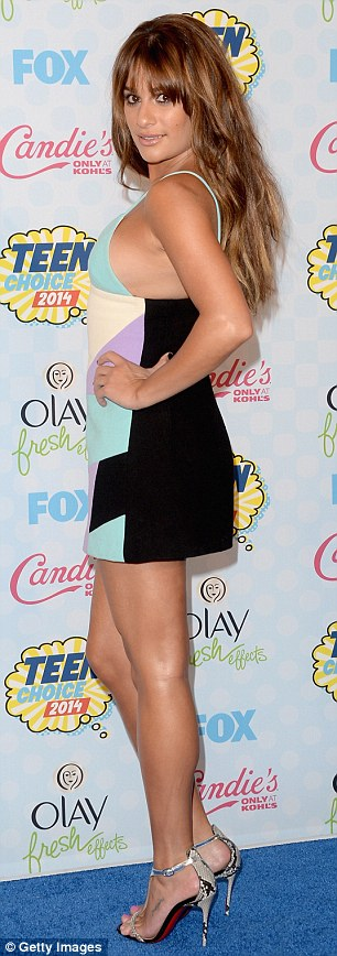 Memories: The Teen Choice Awards likely has some sentimental significance to Lea, as last year's event marked her first public appearance since Cory Monteith's death last July of a heroin overdose