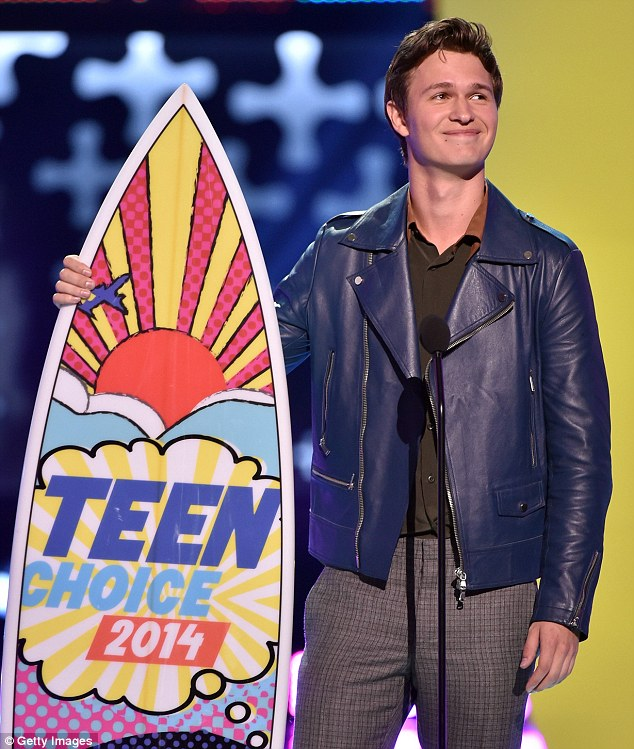 Heartthrob! Ansel was a huge hit with the young girls in the crowd, who were simply swooning over the hunky 20-year-old, who won Choice Movie Actor: Drama for Fault In Our Stars as well as Choice Movie Breakout Star for both Fault and Divergent
