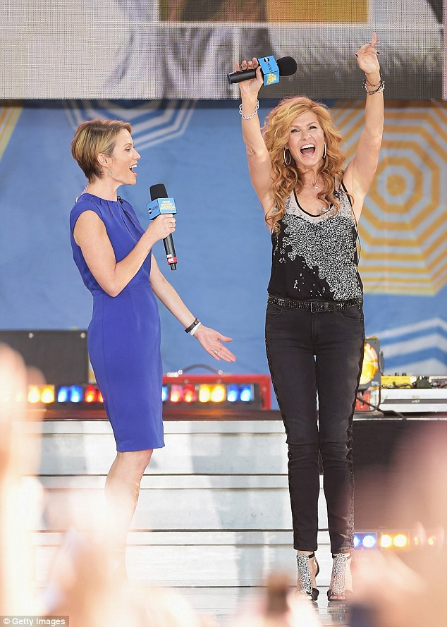 Good Morning America: The morning show's co-host Amy Robach chatted with Connie for a segment on Nashville's third season