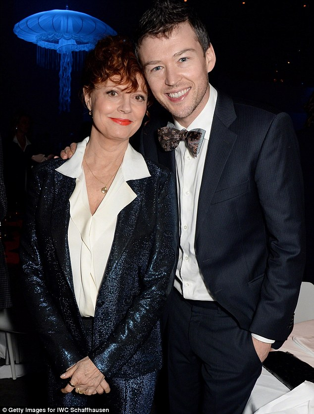 Just call me Honey: The 67-year-old Oscar-winner, with boyfriend Jonathan Bricklin in January, has said she doesn't want to be called 'grandma'