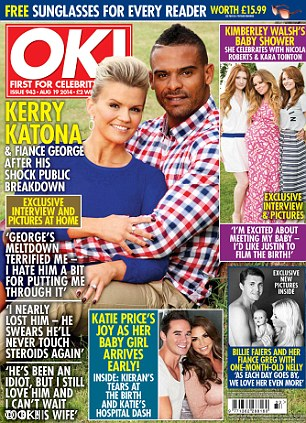 Read the full interview with Billie and Greg in this week's edition of OK! magazine