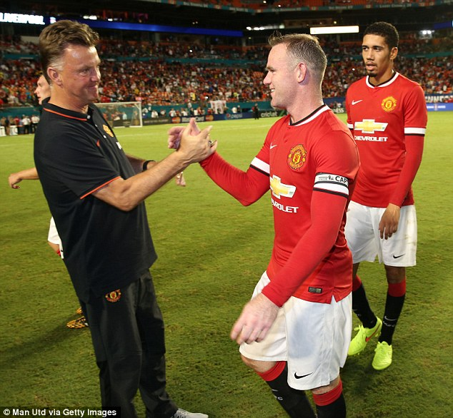 Time to shine! Wayne Rooney should flourish in a Manchester United shirt under new boss Louis van Gaal