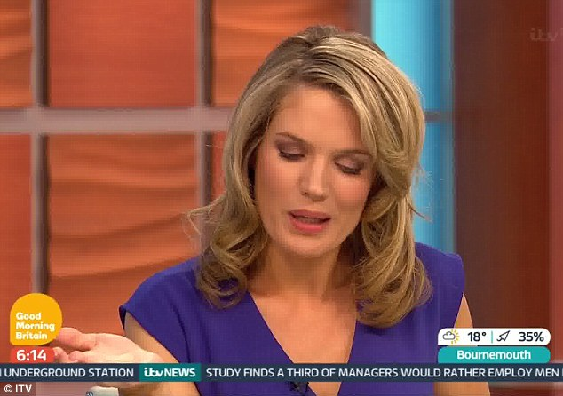 Exciting news: The show, which follows a much more news-inspired angle, featured a pregnancy story that lead into Charlotte's news on Tuesday morning