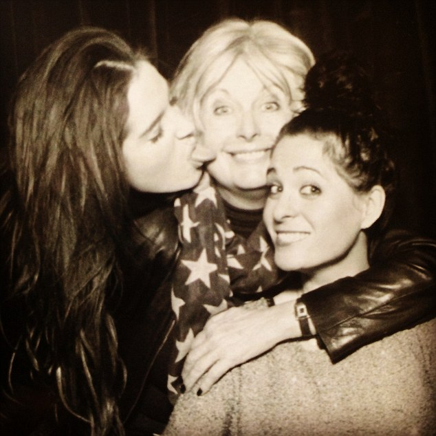 Family first: Binky, Jane and Anna-Louise are extremely close and Anna-Louise said the whole family were so relived when Binky and Alex finally called it quits