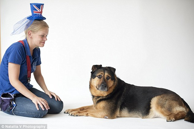 Bless, a six-year-old Rottweiler cross, is always overlooked by visitors to the Battersea Dogs & Cats Home and staff are convinced it is because of her sad face