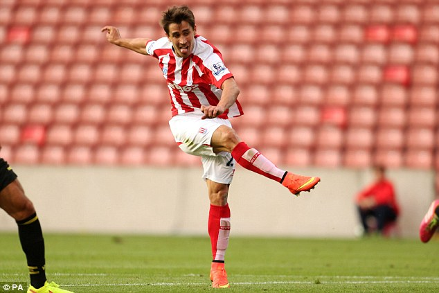 Exciting: Stoke City midfielder Steve Sidwell believes Bojan Krkic (pictured) can be a hit in the Premier League
