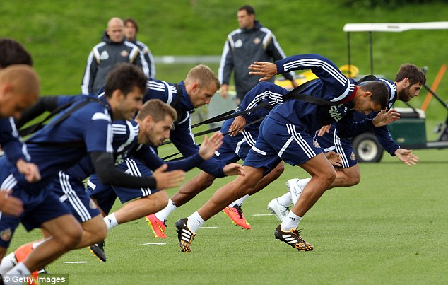 Preparation: Sunderland take on Manchester United in the club's first home game of the season