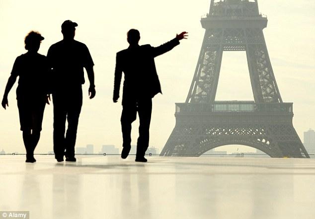 Eh Voila! La Tour Eiffel: France welcomed 84.7 million tourists across its borders in 2013