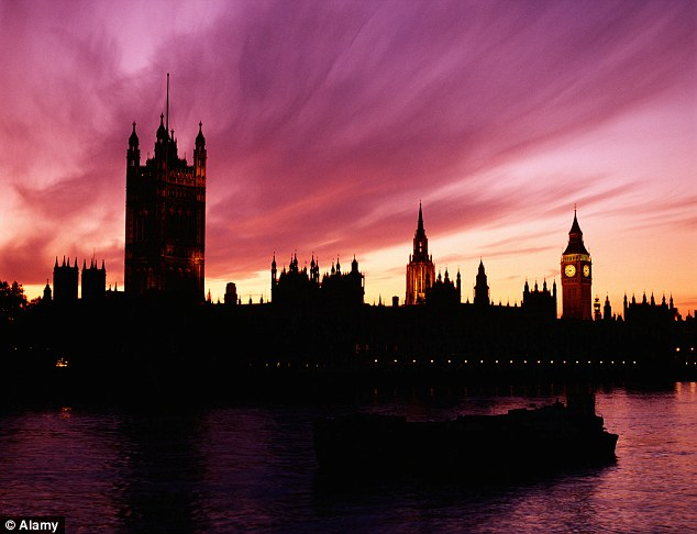 London calling: The capital accounts for 54 per cent of all UK inbound tourism