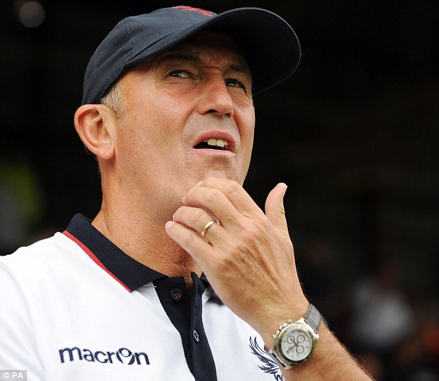 Decision time: Parish insisted that the choice will eventually be made by manager Tony Pulis (above)