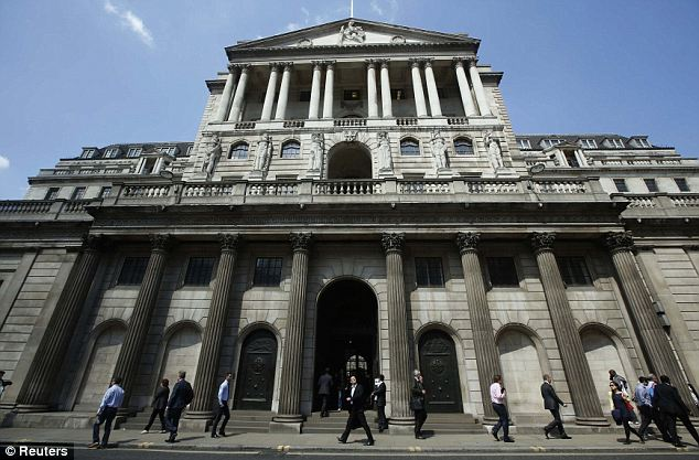 Trigger: Homeowners and savers will be watching for clues as to when the Bank of England will pull the trigger on interest rates