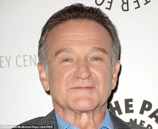 Passed away: Robin Williams has died at the age of 63 at his Tiburon, California home after 35-plus years of entertaining millions