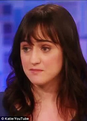 Two decades on: Mara Wilson was six-years-old when she starred with Robin Williams in Mrs. Doubtfire and took to Twitter on Monday to express her grief at Robin Williams' death