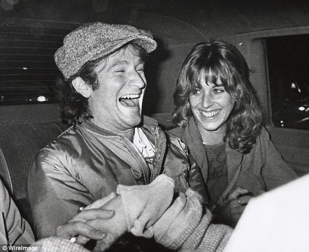 Early days: Robin Williams and first wife Valerie Williams during Robin Williams After Saturday Night Live taping in New York City - November 11, 1978. Back then, Williams often partied with SNL star John Belushi