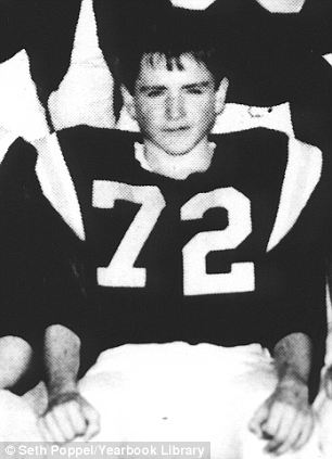 Robin Williams Sophomore Year 1967..Detroit Country Day School, Birmingham, MI..JV Football Team #72..Credit: Seth Poppel/Yearbook Library