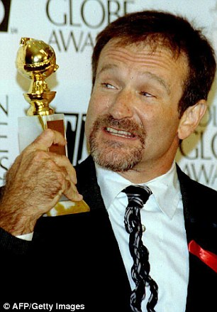 He won a Golden Globe for his role in Mrs. Doubtfire in 1994