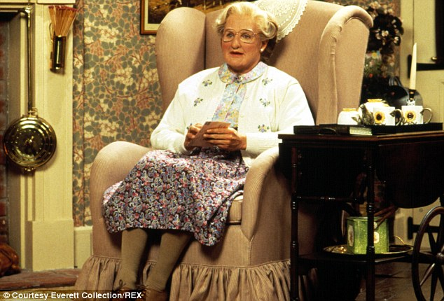 Acclaimed: The actor won an Oscar for his role in Good Will Hunting and three Golden Globes for Good Morning, Vietnam, Mrs. Doubtfire (pictured) and The Fisher King