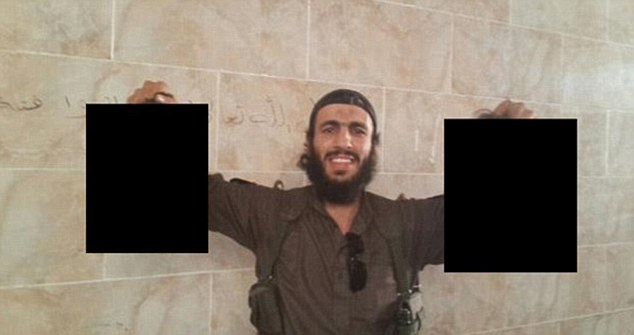 Former Sydney boxer Mohamed Elomar has also fled to Syria where he was recently pictured holding up two decapitated heads in an image posted on Twitter by Sharrouf