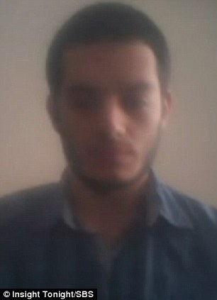 Australian Mohamed Zuhbi appeared on the show from Turkey, via Skype, and claimed he is doing humanitarian work in Syria but has not been part of the fighting