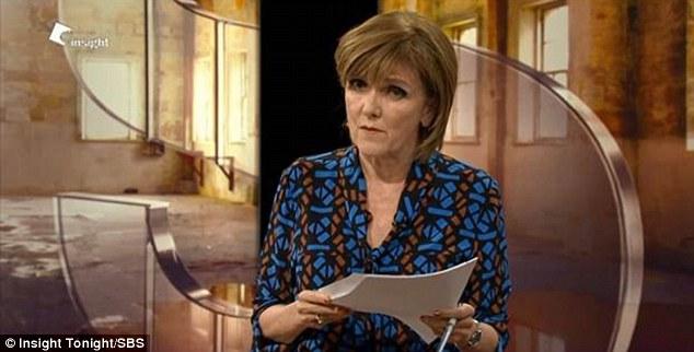 Journalist Jenny Brockie probed him about his passport being revoked
