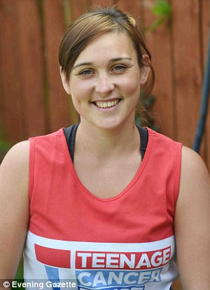 Ms Cotterill, said: 'I want to give something back to the charity that helped me'