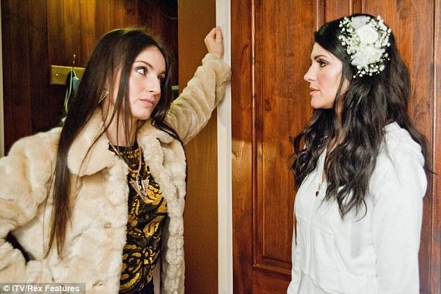 Sisters for life: Natalie's good friend Roxy Shahidi stars alongside her in the ITV soap