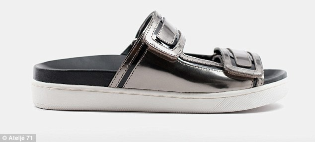 High-tech: The minimalist Scandinavian mentality meets futuristic metallics and sleek lines in many of the designs