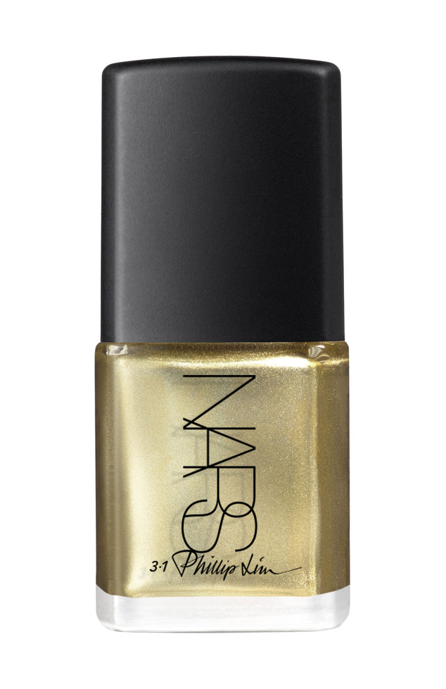 Golden girl: Phillip Lim and his 3.1 Phillip Lim brand have a new nail polish collaboration with Nars