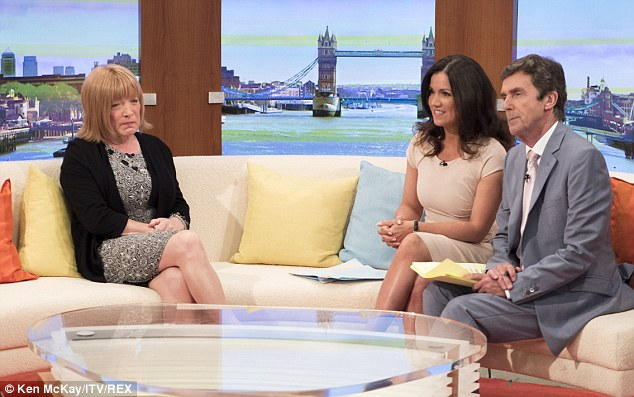 Sofa, so good: Maloney talking on ITV about her revelation and new life