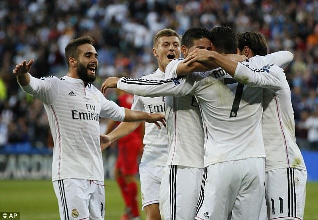 Match winner: Ronaldo scored twice in Real's 2-0 victory in Cardiff