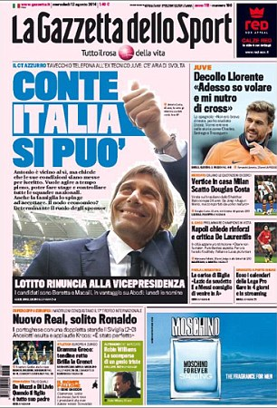 New job? Antonnio Conte lined up for Italy role