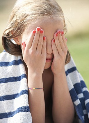 Words of warning: Skincare experts warn that applying too much make-up at a young age not only worsens existing and immediate skin problems but can also have a detrimental effect on long-term skin health and condition - not to mention confidence and self-esteem