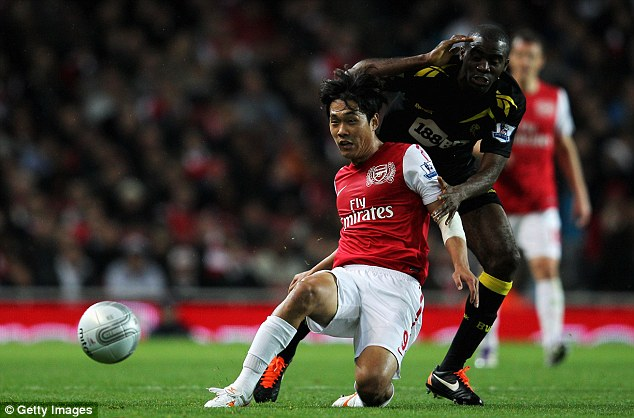 No more panic buys: In previous years Arsene Wenger has bought flops like Park Chu-young at the last minute