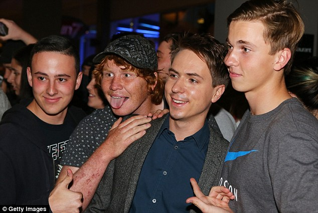 Hit: The Inbetweeners 2 has scored the biggest opening weekend of the year at the UK box office with a haul of £12.5 million in its first five days