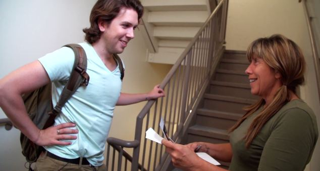 This came in the mail: The film shows Corey Wadden handing his mother a letter that he claims was sent to her