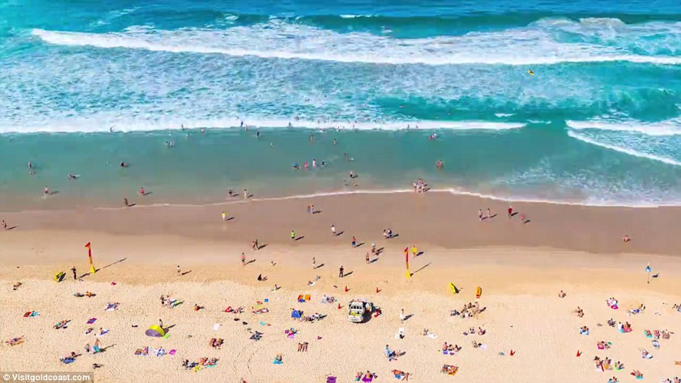 The time-lapse was shot for Gold Coast Tourism by photographer Joe Capra