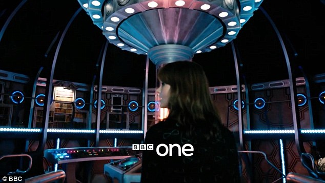 TARDIS transformation: Not only has the show got a new Doctor, his time travelling machine has been given a revamp, much to the dislike of Clara