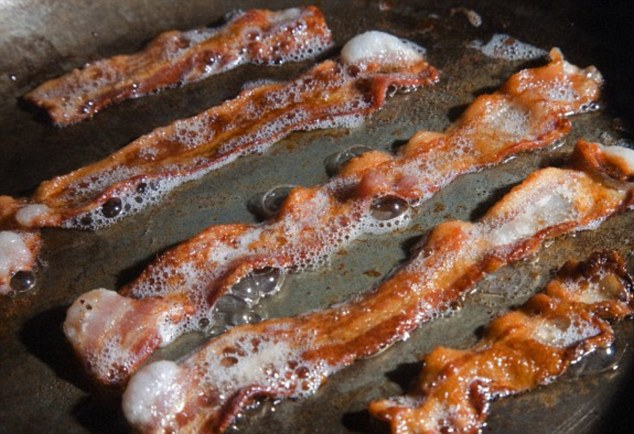 A Minnesota-based meat company, Hormel Foods, collaborated with a biodiesel firm to make fuel from bacon grease (pictured in a stock image)
