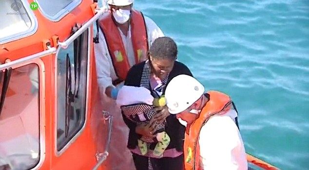 The infant, who has been given the name of Princesa ¿ Spanish for ¿princess¿ by Red Cross workers - was found in one of the 94 inflatable boats that reached the Spanish coast earlier this week