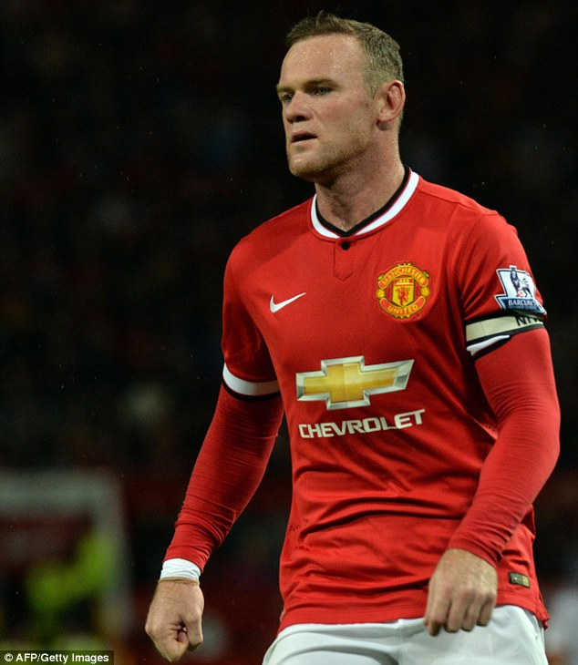 Skipper: Wayne Rooney has been handed the captain's armband on a permanent basis