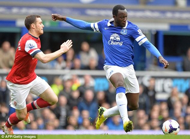 Statement: Everton's £28m signing of striker Romelu Lukaku has signalled their intentions for the season