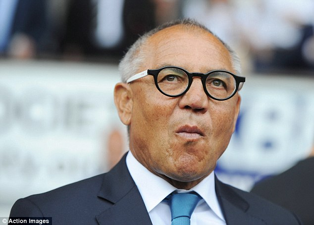 Not impressed: Felix Magath saw his youthful Fulham side lose at Ipswich on the opening day
