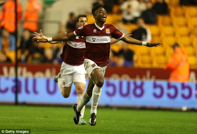 Cupset: Northampton dumped Championship side Wolves out of the Capital One Cup in midweek, with Ivan Toney one of the scorers
