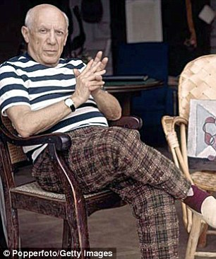 Leader of the modernists: Pablo Picasso's work now sells for millions