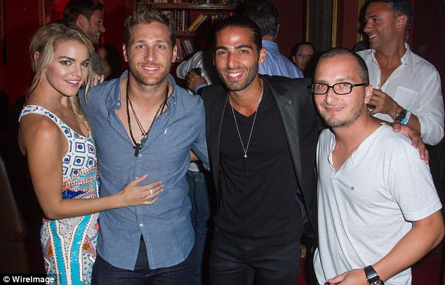Met his friends: Nikki was excited to meet Juan Pablo's friend at the party such as Jason Canela and Obie Bermudez
