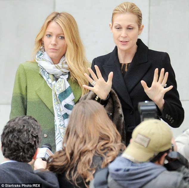Ready to get back in the game: Kelly played Blake Lively's mother in Gossip Girl, and is hoping to put the legal drama behind her and focus on her career